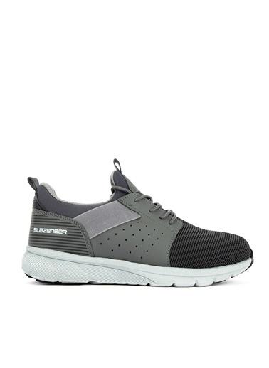 Slazenger Slazenger GETTO Sneaker Erkek Ayakkabı    Gri